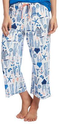Hue Plus Sailor Jam Capri Pyjama Pants