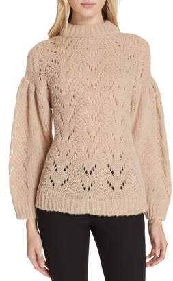Kate Spade pointelle sweater