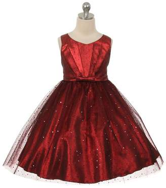 Kids Dream Luna- Sparkly Tulle Dress Red