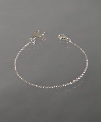 Gara Danielle silver camel charm chain bracelet