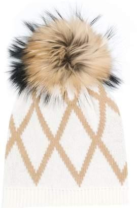 Max Mara Amour bobble hat