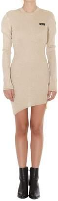 GCDS Puff Sleeves Dress