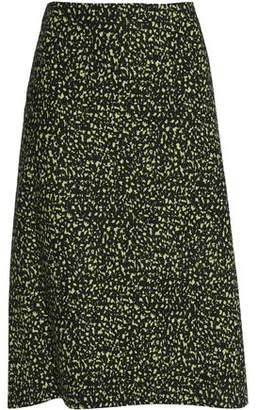 Marni Printed Cotton-Poplin Skirt