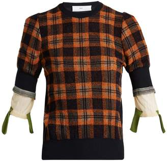 Toga Plaid sweater