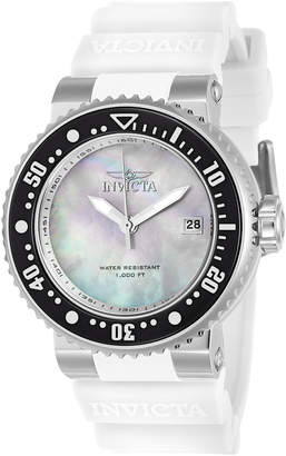 Invicta 22672 Silver-Tone & White Pro Diver Watch