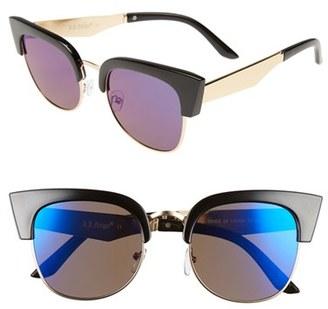 A.J. Morgan 'Wings' 52mm Sunglasses $24 thestylecure.com
