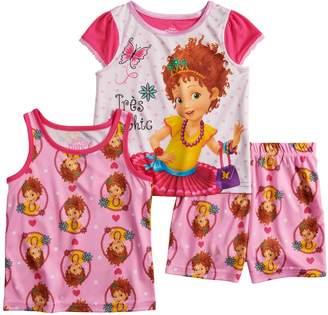 Disney Disney's Fancy Nancy Toddler Girl Tops & Shorts Pajama Set