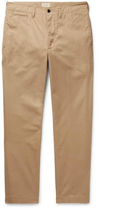 Bellerose Dunabeste Tapered Cotton-Twill Trousers