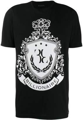 Billionaire crest print T-shirt