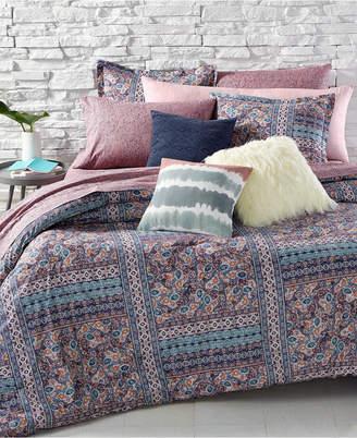 BCBGeneration Batik Floral Full/Queen Comforter Set Bedding