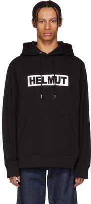 Helmut Lang Black Logo Hoodie
