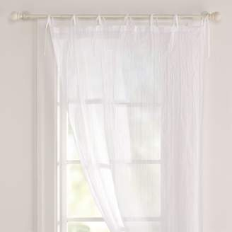 Pottery Barn Teen Twisted Sheer, 40&quotx63&quot, White