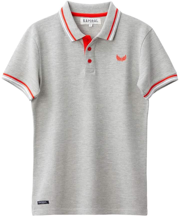 5 Plain Short-Sleeved Polo Shirt