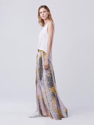 Jade Maxi Skirt $368 thestylecure.com