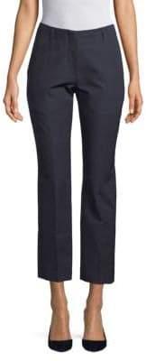 Dries Van Noten Slim-Fit Cropped Wool Pants