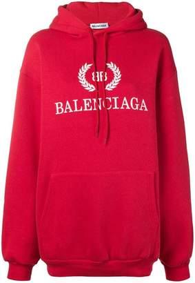 Balenciaga BB logo hoodie