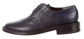 Robert Clergerie Leather Lace-Up Oxfords