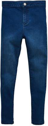 Very Super Skinny High Waisted Jean With Stretch