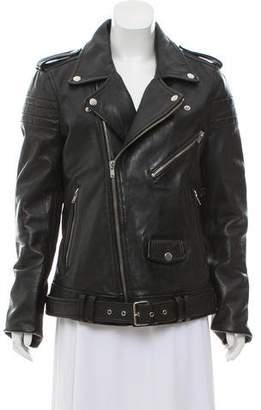 BLK DNM Leather Biker Jacket w/ Tags