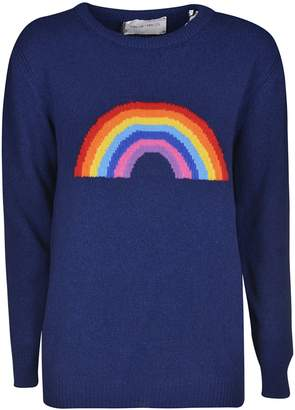 Alberta Ferretti Rainbow Knit Sweater