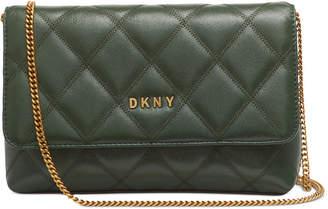 DKNY Sofia Leather Clutch Crossbody