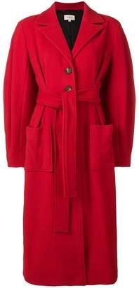 Isa Arfen belted long coat