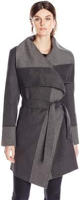 Diane von Furstenberg Women's Mackenzie Wool Wrap Coat