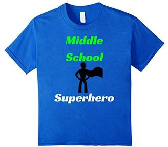 Middle School superhero t-shirt