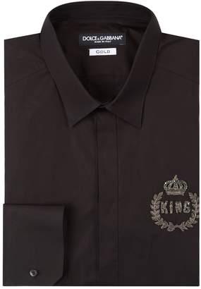 Dolce & Gabbana King Embellished Shirt