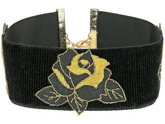 Vanessa Mooney The Dusty Rose Choker Necklace Necklace