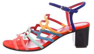 Hermes 2017 Multicolor Oracle Sandals
