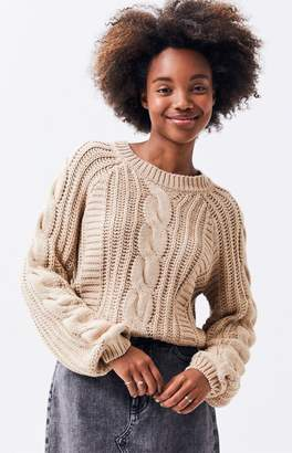 La Hearts Nixie Cable Stitch Sweater