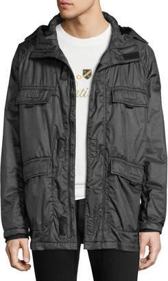 Stone Island Men's Flap-Pocket Hooded Jacket