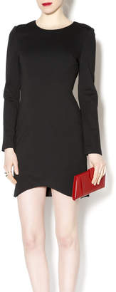 Black Label Black Scoop Hem Dress