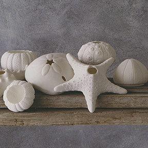 Roost Porcelain Sea Life Candleholder
