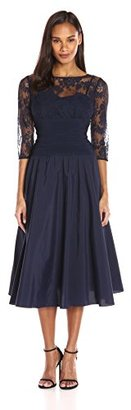 Jessica Howard Women's Lace Bodice Fit and Flare $108 thestylecure.com