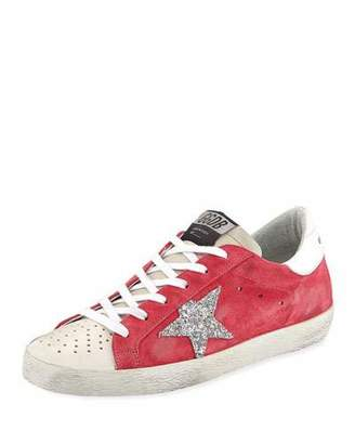 Golden Goose Superstar Suede Low-Top Sneakers
