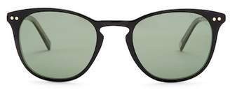 Ted Baker Unisex 51mm Round Acetate Sunglasses