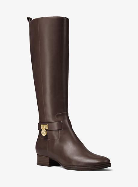 Michael Kors Ryan Leather Boot
