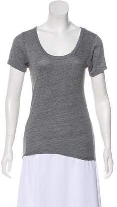 Chaser Scoop Neck Short Sleeve Top