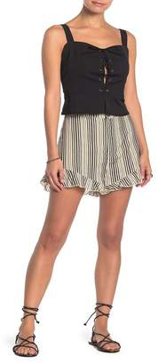 Show Me Your Mumu Avery Stripe Print Shorts