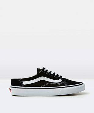Vans Old Skool Mule Black White Shoe