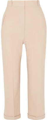 Jacquemus Cropped Woven Straight-leg Pants - Beige