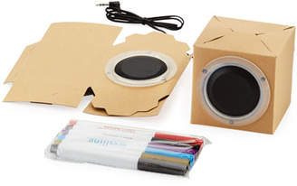 Your Own Seedling Design Cardboard Speakers