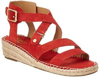 Franco Sarto Women's L-Lenah Espadrille Wedge Sandal $24.99 thestylecure.com