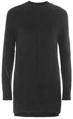Topshop Knit Detail Sweater Dress