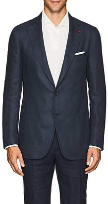 Isaia Men's Dustin Linen Two-Button Sportcoat