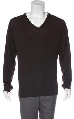 Ralph Lauren Black Label Long Sleeve V-Neck Sweater