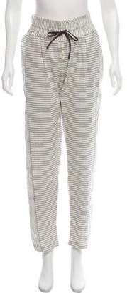 Ace&Jig Striped Mid-Rise Pants