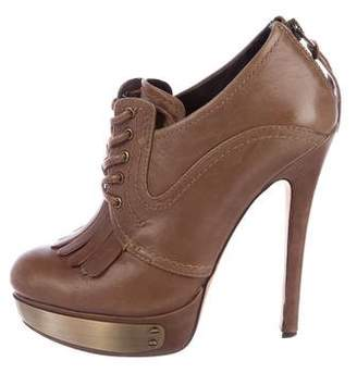 House Of Harlow Platform Oxford Booties